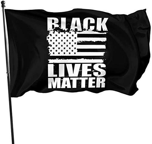VOROY YMX&SBL - Banderas para exteriores con texto en inglés 'Make Racism Wrong Again' (3 x 5 pies)