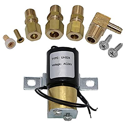 AMI PARTS Universal Humidifier Solenoid Valve Replacement Kit UHS24 24V