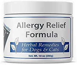 Doc Ackerman – Allergy Relief Formula – 10 oz | Professionally Formulated Herbal Remedy for Dogs & Cats | Enhanced with Chamomile, Hops & Papaya
