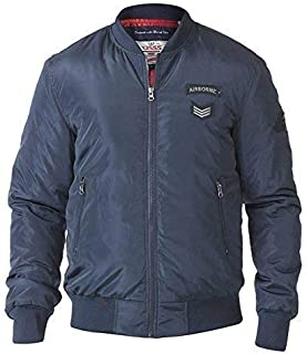 PEDRO-D555 Mens Extra Tall Bomber Jacket with Badges