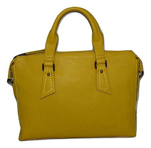 Bulaggi - Borsa per laptop da donna, 17', colore: Giallo scuro