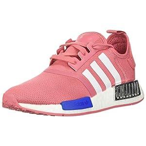 adidas Women's NMD_R1 Sneaker, Hazy Rose/White/Glory Blue, 8.5