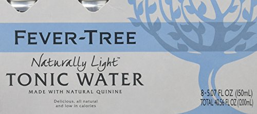 Fever-Tree Naturally Light Tonic Water, 5.07 Fl Oz (Pack of 8)