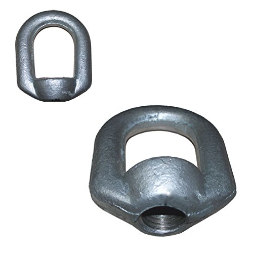 10 PCS Eye Nut Drop Forged Carbon Steel 1,250lbs Bail Size 5/16 Tap Thread 3/8