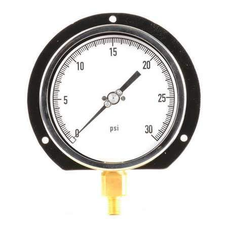 0 to 30 Psi Range -0.50% Gauge in 4 1 Pressure Outstanding Accuracy Jacksonville Mall