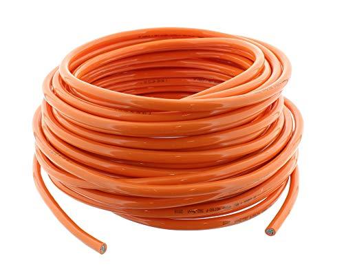 Polyurethanleitung H07BQ-F 3G 2,5mm² PUR Kabel orange 15 Meter