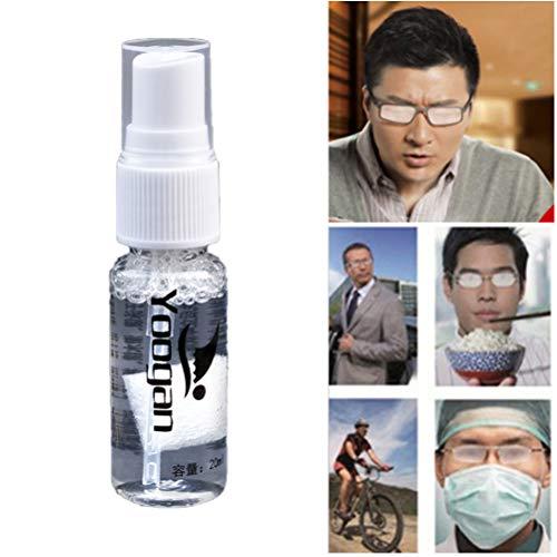 Hanwuo Agente sólido antiempañador portátil, agente de desempañamiento del estado para gafas de natación, lentes de cristal, limpiador de máscara de buceo
