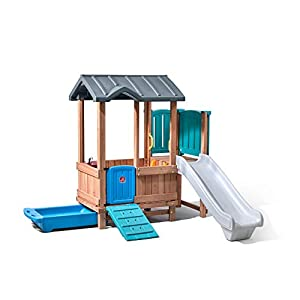 Step2 Woodland Adventure Playhouse & Slide