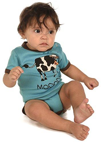 LazyOne Garçon Mooody Body Bebe Vest 6 Months