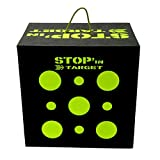 Stop'In Target - Cible Cube de tir - pour arcs Traditionnels ou à poulies - Dimensions 50x50x35 cm