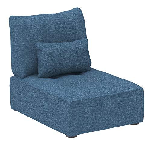 Canapé Bleu Tissu Design Confort