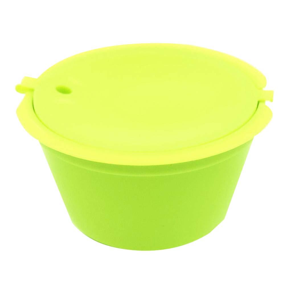 Kalaokei - Filtro de cápsulas de café reutilizable para cafeteras Nescafe Dolce Gusto verde: Amazon.es: Hogar