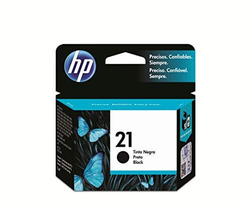 HP 21 C9351AE - Cartucho Original de Tinta Negro, compatible con impresoras de inyección de HP Deskjet D1530, D1560, D2360, D2460, F2290, F335, F2180, F380, F390, F4180; Officejet 4315, 4335