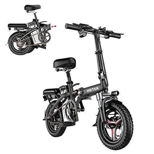 UPDD Folding Electric Bike - Electric Bike Suitable for Adults and Teenagers| with 250-watt high-Performance Motor | Dual Disc Brake | Professional Wear-Resistant Vacuum Tires | 【US Stock】