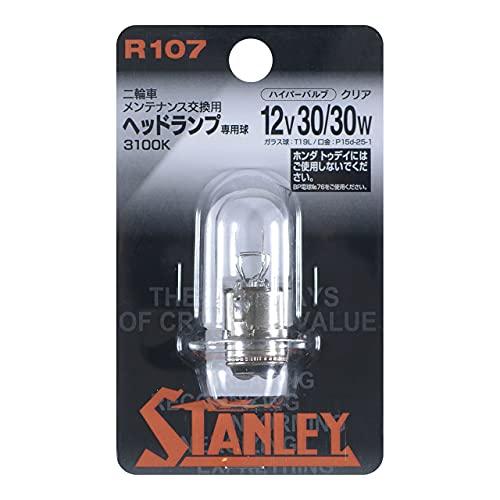 STANLEY [ スタンレー電気 ] 二輪用ヘッドランプ モーターサイクル ハイパーバルブ T19L クリア [1個入り] R107