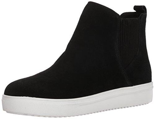 Blondo Women's Gennie Waterproof Sneaker, black suede, 9 M US