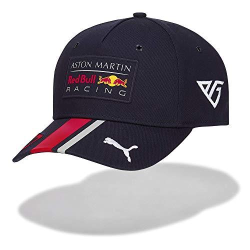 Red Bull Racing Aston Martin Pierre Gasly Baseball Cap 2019 Gorra de béisbol, Azul (Navy Navy), Talla única Unisex Adulto