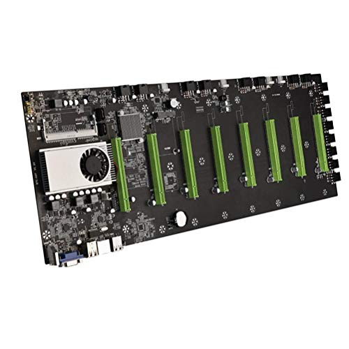 BTC-D37 Mainboard für Bergbau-Maschine, CPU mit geringer Leistung, 8 Steckplätze für SODImm DDR3 Speicherplatz