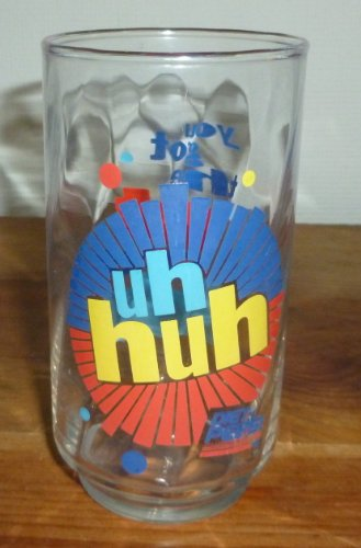 Uh Huh Diet Pepsi Drinking Glass