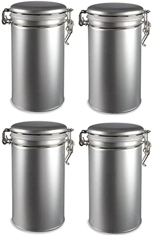 Super beauty product restock quality top Nakpunar 4 pcs overseas Airtight Tea with Coffee Latch Tins