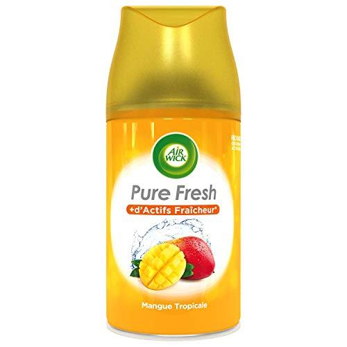 Air Wick Lufterfrischer für Haus Nachfüllpack Freshmatic Mango Tropisch 250 ml