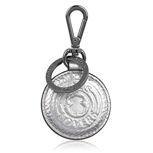 TOUS Llavero Lovers Circle Color Plata (095970609)
