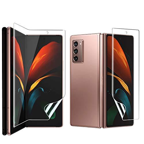 Miitech Galaxy Z Fold2 5G フィルム 【2枚セット】全面保護 フィルム 液晶保護フィルム 気泡ゼロ 飛散防止 指紋防止 99%透過率 Samsung Galaxy Z Fold2 5G SCG05 対応 専用 フィルム