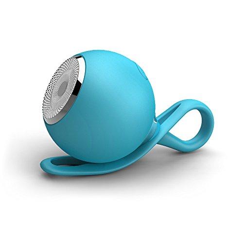 Purchase Mini Portable Bluetooth Stereo Speaker Outdoor Waterproof Rechargeable Wireless Speaker (Blue)