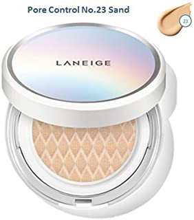 New Laneige BB Cushion [Pore Control] NO. 23 Sand with a refill