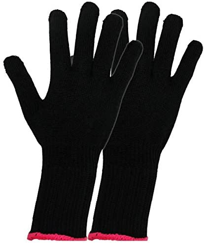 Professional Heat Resistant Glove for Hair Styling Curling Iron Flat Iron Wands Set of 2 product image
