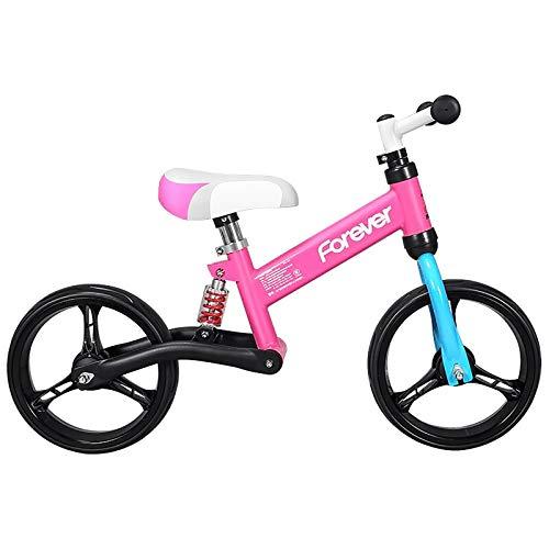 Balance Bikes Sport, Kleinkind-Bikes, Leichte Verstellbare Sitze, Keine Aufblasbaren Eva-Reifen, Kinder-Trainingsräder, Geeignet Für Kinder Von 2 Bis 6 Jahren