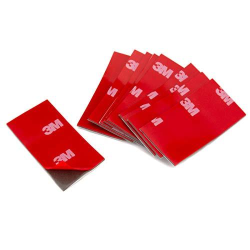 DonDo 3M 4229P doppelseitiges Klebeband Montage Klebestreifen Klebepads 50x25mm 10 Stück
