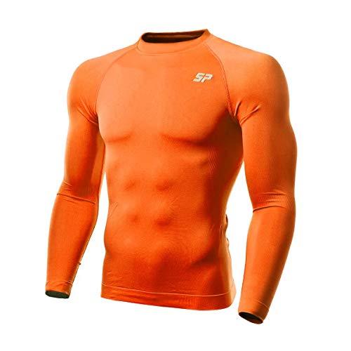 SP Fútbol Térmica Doble Densidad, Camiseta, Naranja