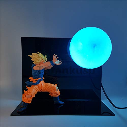 Dragon Ball Z Son Goku Figura De Acción Super Saiyan Kamehameha ...