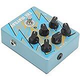 Amplificador analógico, combinación de reverberación y retardo en...