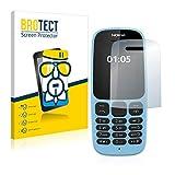 BROTECT Panzerglas Schutzfolie kompatibel mit Nokia 105 2019-9H Extrem Kratzfest, Anti-Fingerprint, Ultra-Transparent