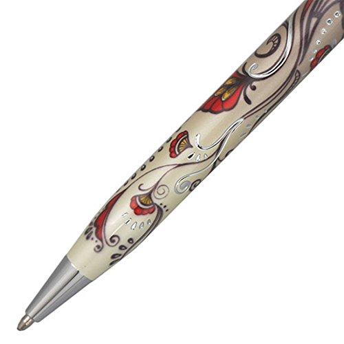 CROSS『ボタニカレッドボールペン(NAT0642-3)』