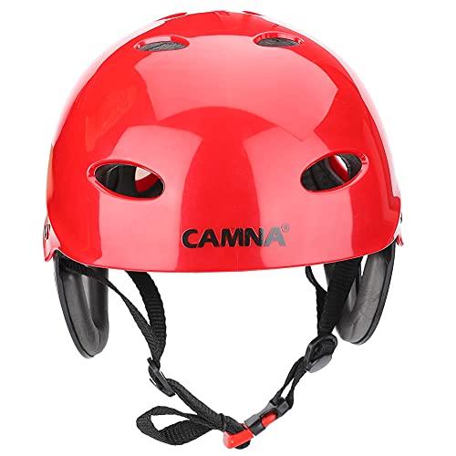 Qianduoduo888 Deporte Al Aire Libre Casco, Casco De Ciclista, Ajustable En Barca A La Deriva De La Roca Protección para La Cabeza Cascos, para Patines Patinetas Scooters 🔥
