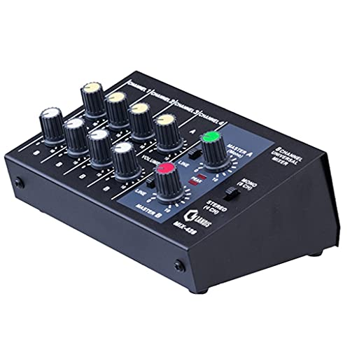 ZLDGYG SMDMM Consola de mezcla de 8 canales micrófono de panel de sonido mezclador digital ajuste estéreo