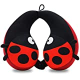 COOLBEBE Kids Neck Travel Pillow, Remarkable Head Chin Neck Support U-Shaped Animal Pillows for Child, Toddlers – Relax and Sleep Soundly Anytime