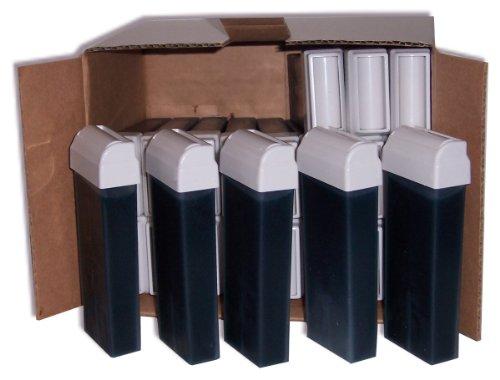 Storepil - 24 recharges 100 ml de cire à épiler jetable - AZUR pour épilation
