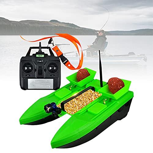 DestinyXVZ Intelligent Buscador Peces Bait Boat, 500m Control, Multifunción LEDLight, para Piscinas Y Lagos