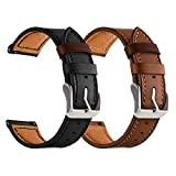 YaYuu Compatible Cuir Bracelet de Montre Samsung Galaxy 46mm/Gear S3...