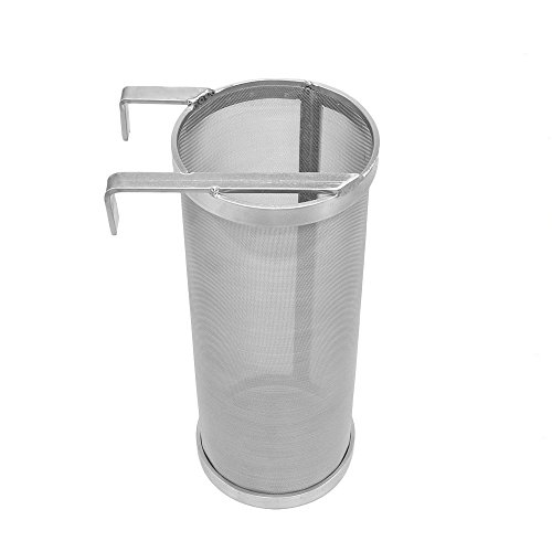 Ferroday Stainless Beer Hopper Filter Keg Dry Hoping Home Brew 4x10 Inch Hopper Spider Strainer Home Brew Pellet Hop Mesh Filter