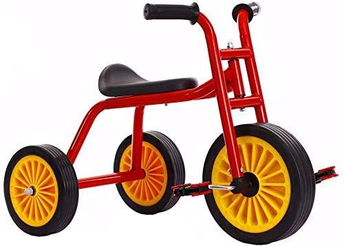 WLD Kinder 'S Trainingsfahrzeug Rahmen Kinderwagen 1-3-2-6 Jahre alt Kind Fahrrad Kinder Auto Balanced Dreirad Jungen und Mädchen spielen Indoor-und Outdoor-Kombination Baby Geburtstagsgeschenk,rot