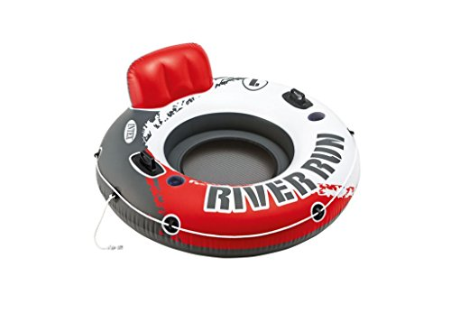 Sessel Lounge River Run - rot - Eine Rückenlehne. Eine Getränkevorrichtung. Die Lounge kann über Verschlüsse mit weiteren River Run Lounges zu einer großen Chill-Zone verbunden werden