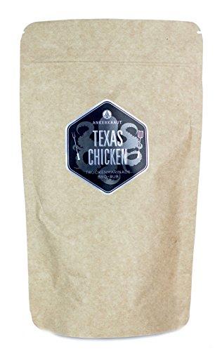 Ankerkraut Texas Chicken, 250g im Beutel, BBQ-Rub Gewürzmischung für Chicken-Wings und Hähnchen