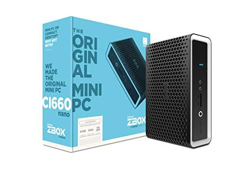 Zotac Zbox CI660 Barebone nano mini-PC (Intel Core i7-8550U quad-core, Intel UHD Graphics 620)