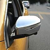 Puerta Cromo Cubierta Lateral Espejo Fit For Nissan Qashqai J11 2014 2015-2019 Rogue Deporte Recortar Vista Posterior Casquillo Superposición Moldeo Guarnición Cubierta Espejo ( Color : Silver )