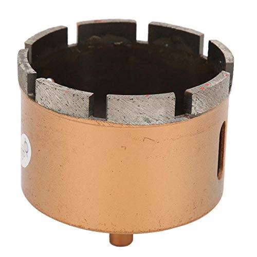 Jeanoko Broca para hormigón Broca de Diamante 1 Pieza Sierra de Diamante de 0,37 Pulgadas de diámetro para baldosas vitrificadas(80mm)